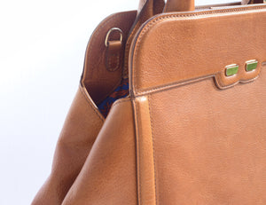 Camel Brown Nott Handbag- Re-stock in March - BENE Handbags