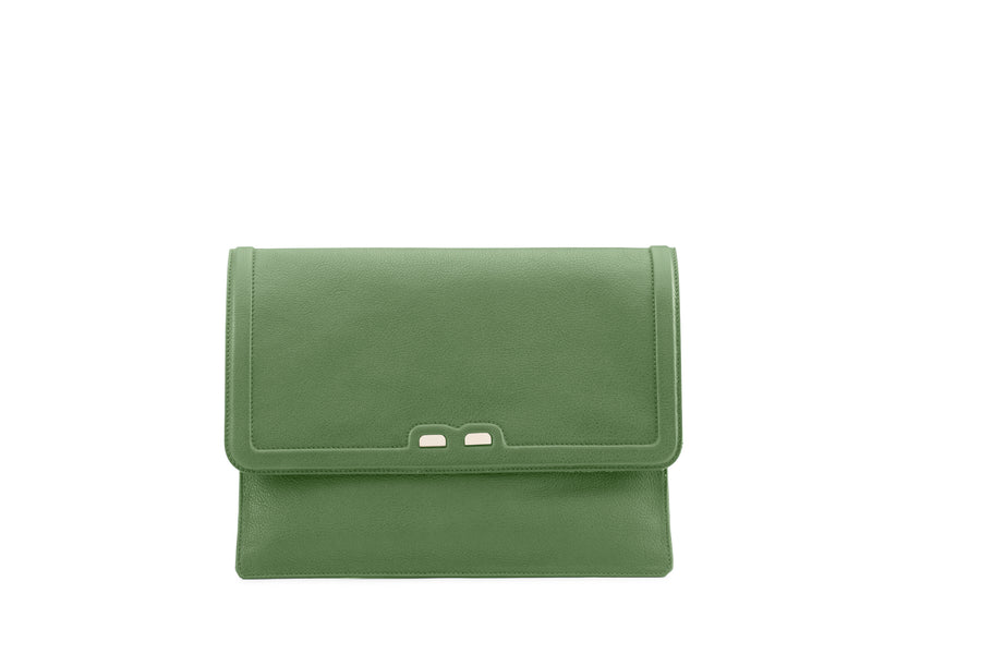 PRE-FALL Lattuga Caffery Clutch - BENE Handbags