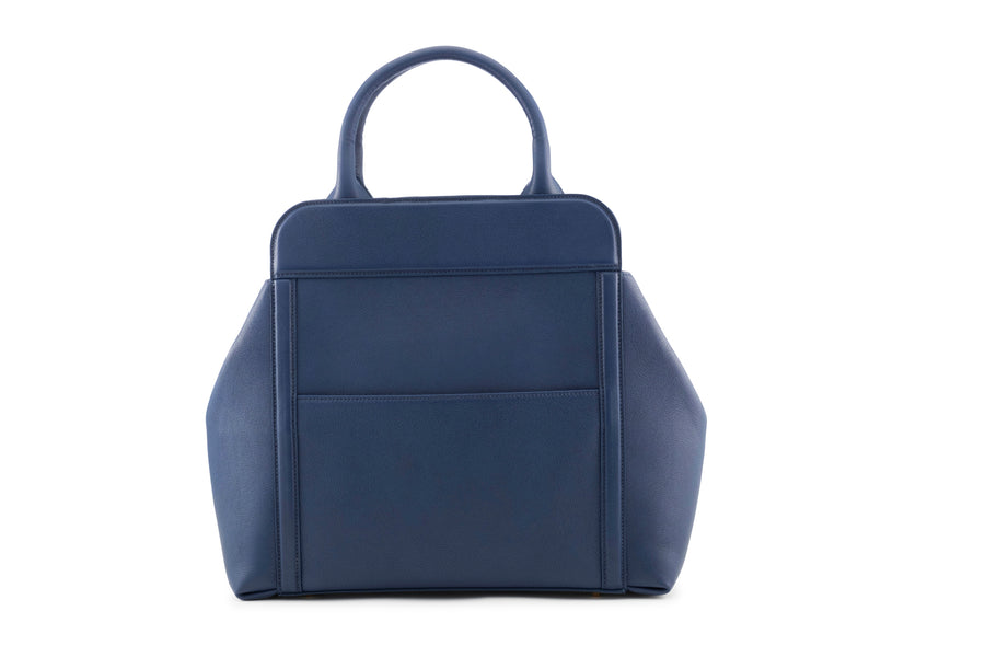 PRE-FALL Denim Nott Handbag - BENE Handbags