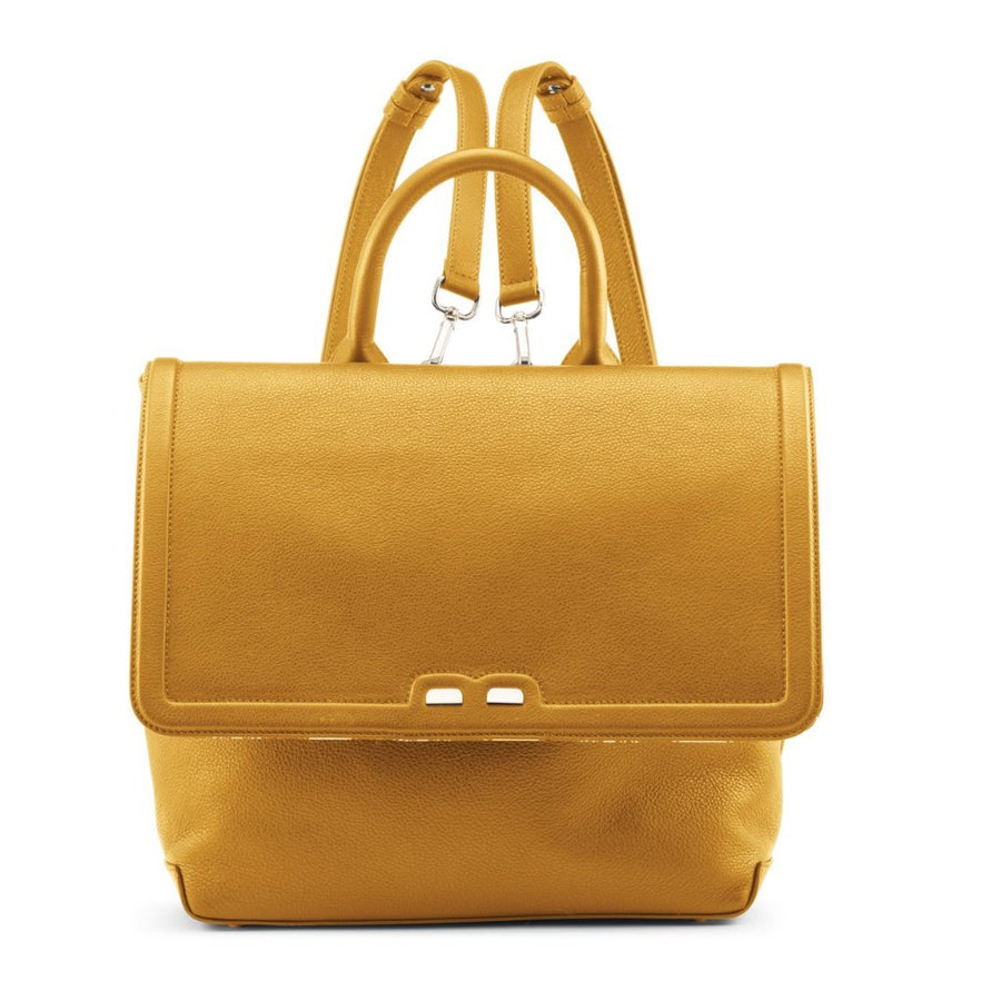 PRE-FALL Senape Blakemore Bookbag - BENE Handbags