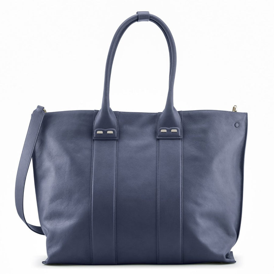 PRE-FALL Denim Stafford Tote - BENE Handbags