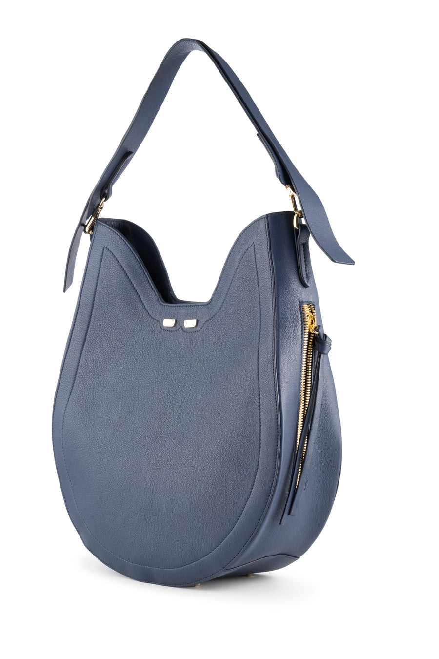 PRE-FALL Denim Henry James Hobo - BENE Handbags