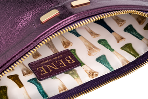 Penny in Metallic Purple - BENE Handbags