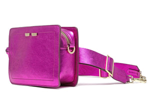 Fairfax in Metallic Pink - BENE Handbags