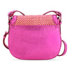 Holmes in Metallic Pink with Pink Raffia - BENE Handbags