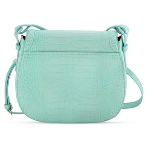 Holmes in Mint Gator - BENE Handbags
