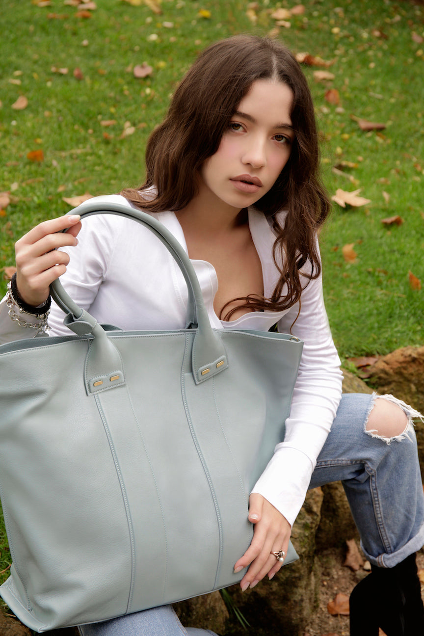 Glacier Blue Stafford Bag - BENE Handbags