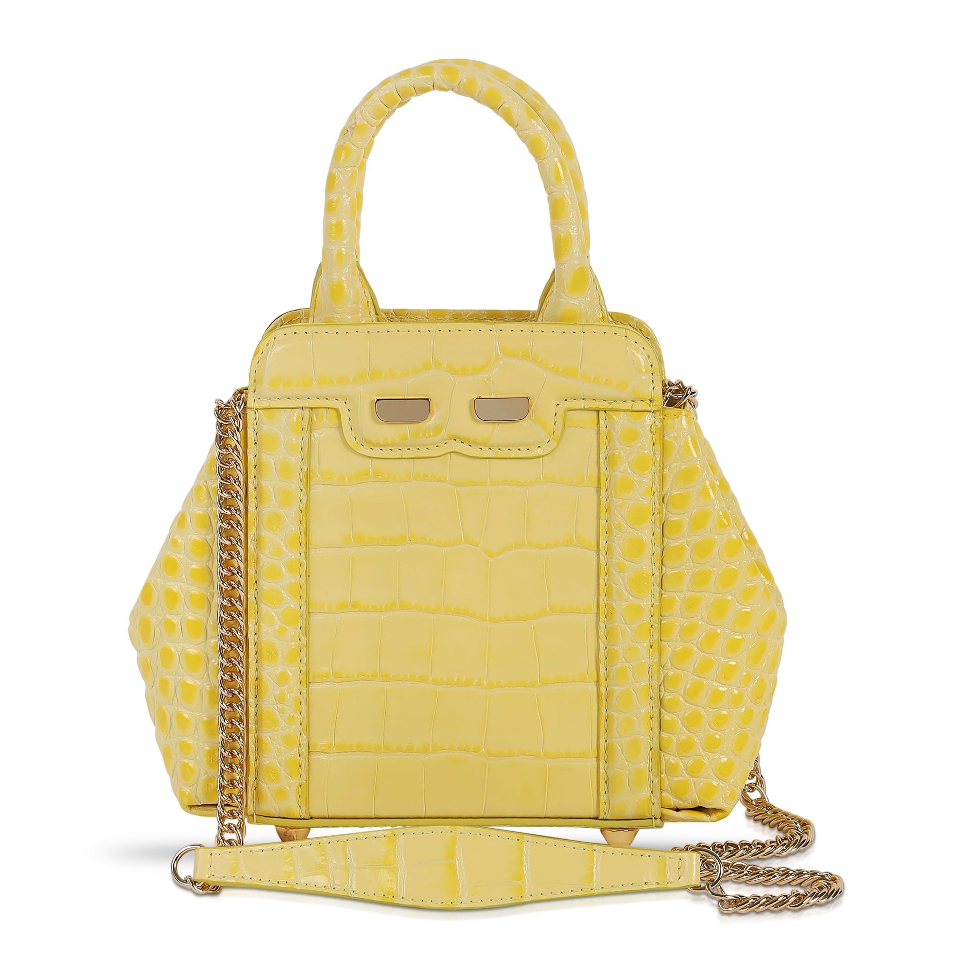 Mini Nott in Giallo Croc