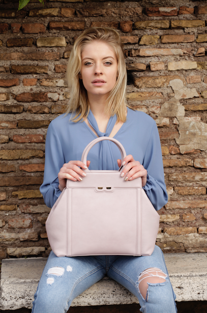 Light Lavender Nott Handbag - BENE Handbags