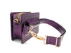 Fairfax in Metallic Plum - BENE Handbags