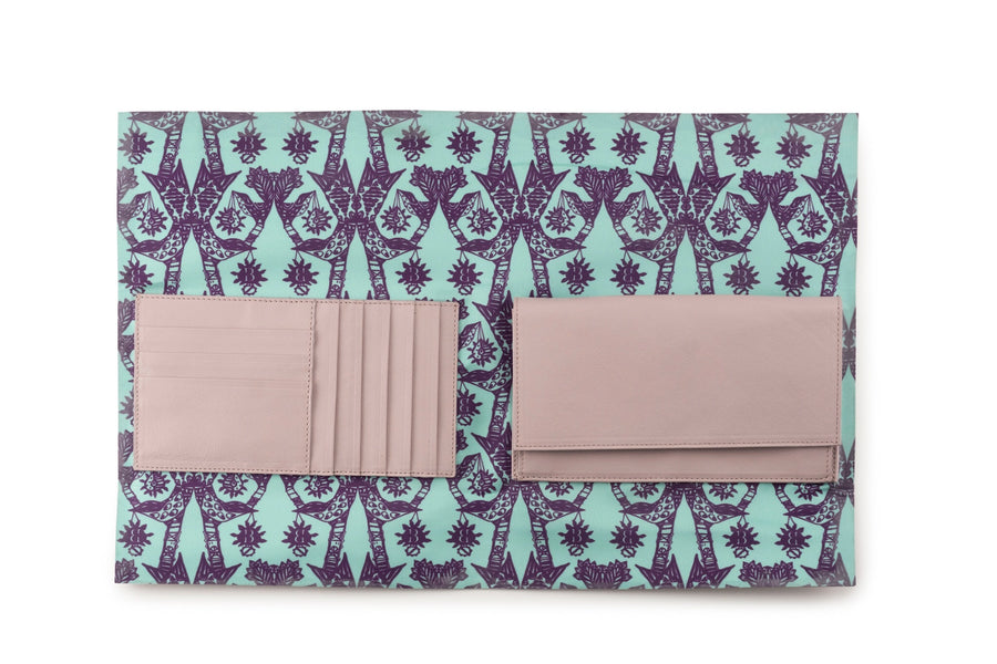 Light Lavender Ryland Wallet - BENE Handbags