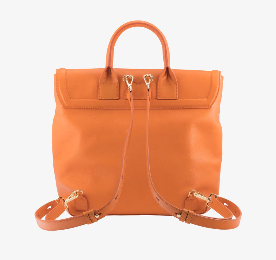 Blakemore in Orange - BENE Handbags