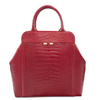 Nott in Red Alligator Stamp - BENE Handbags