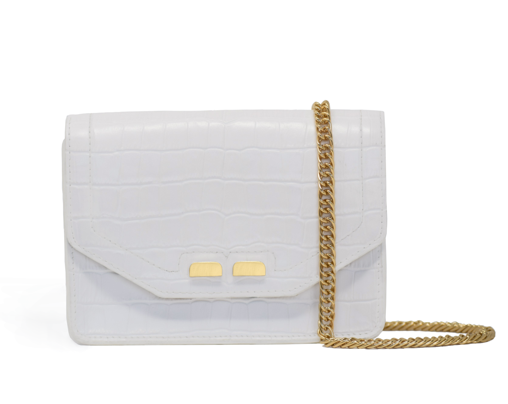 Samuel Stadium Bag in White Gator