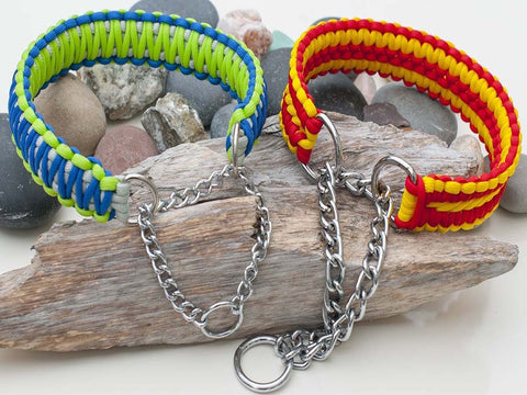 Martingale Paracord Dog Collars