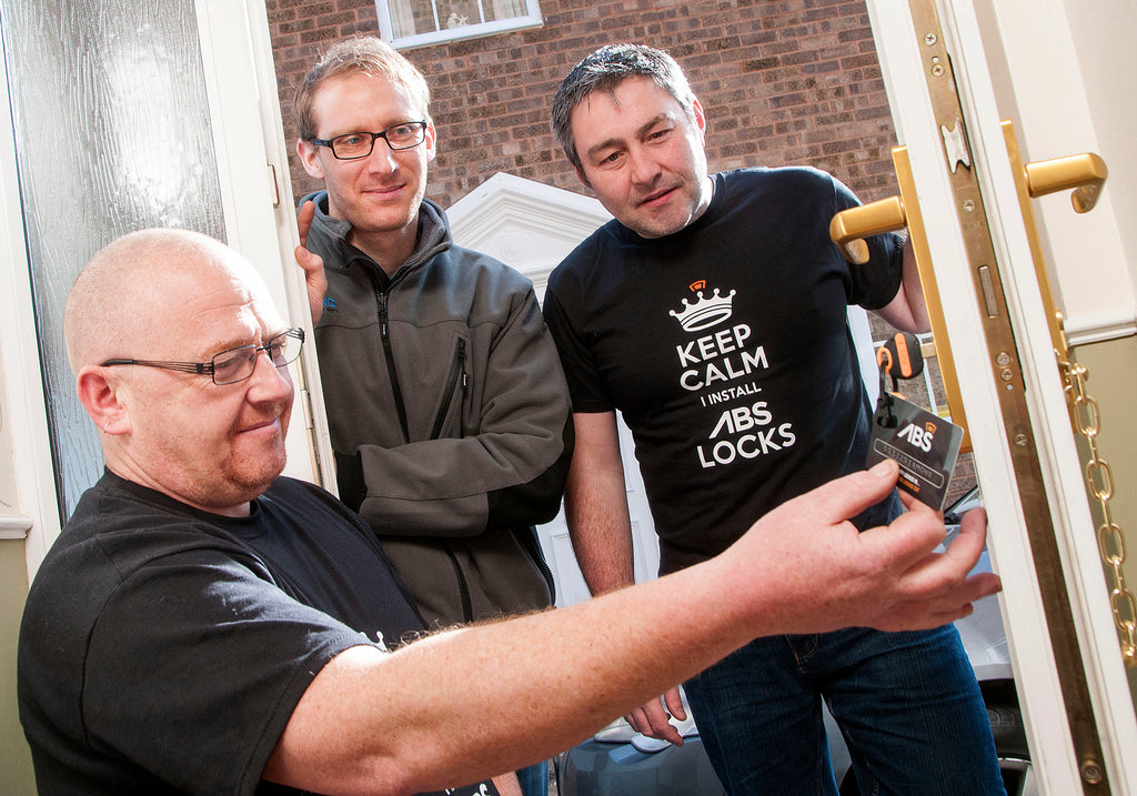Locksmiths install Avocet ABS locks for burglary victims in Huddersfield
