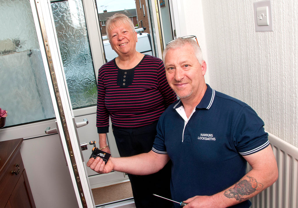 Hawkins locksmiths install ABS home security upgrade for neighbourhood watch competition winner
