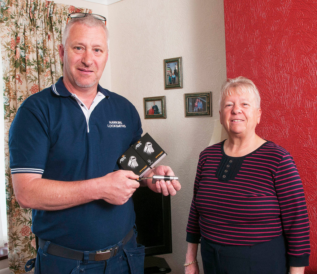 ABS locks upgrade competition winners home