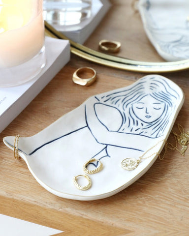 Woman Trinket Dish