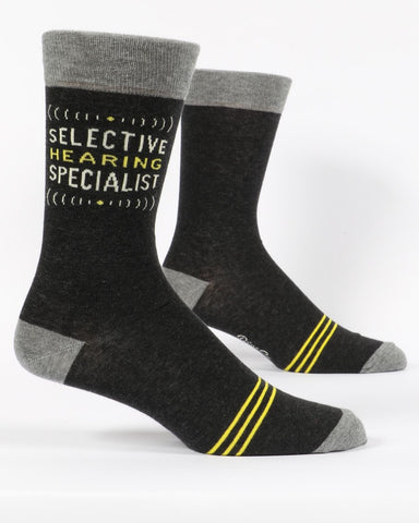 Selective Hearing Mens Socks