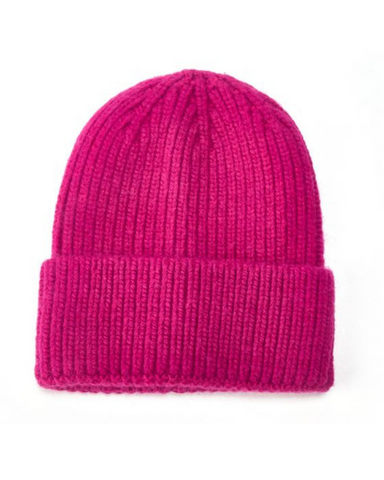 Knitted Beanie Hat Assorted Colours