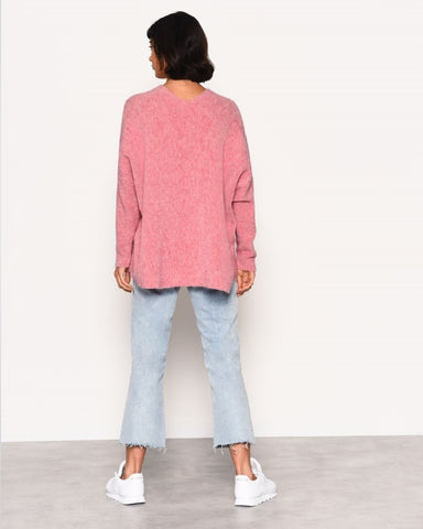 Super Soft Marl Pink Jumper