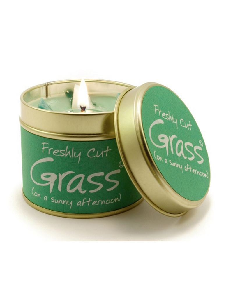 Freshly Cut Grass Tin Scented Candle