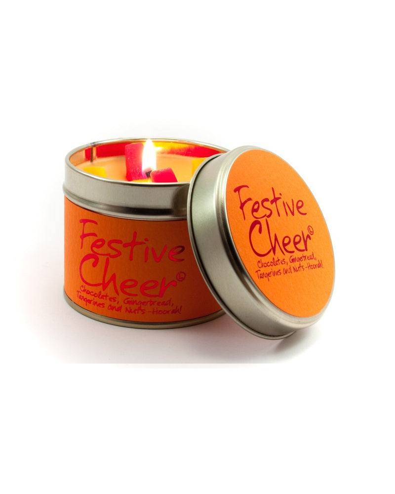 Festive Cheer Tin Scented Candle