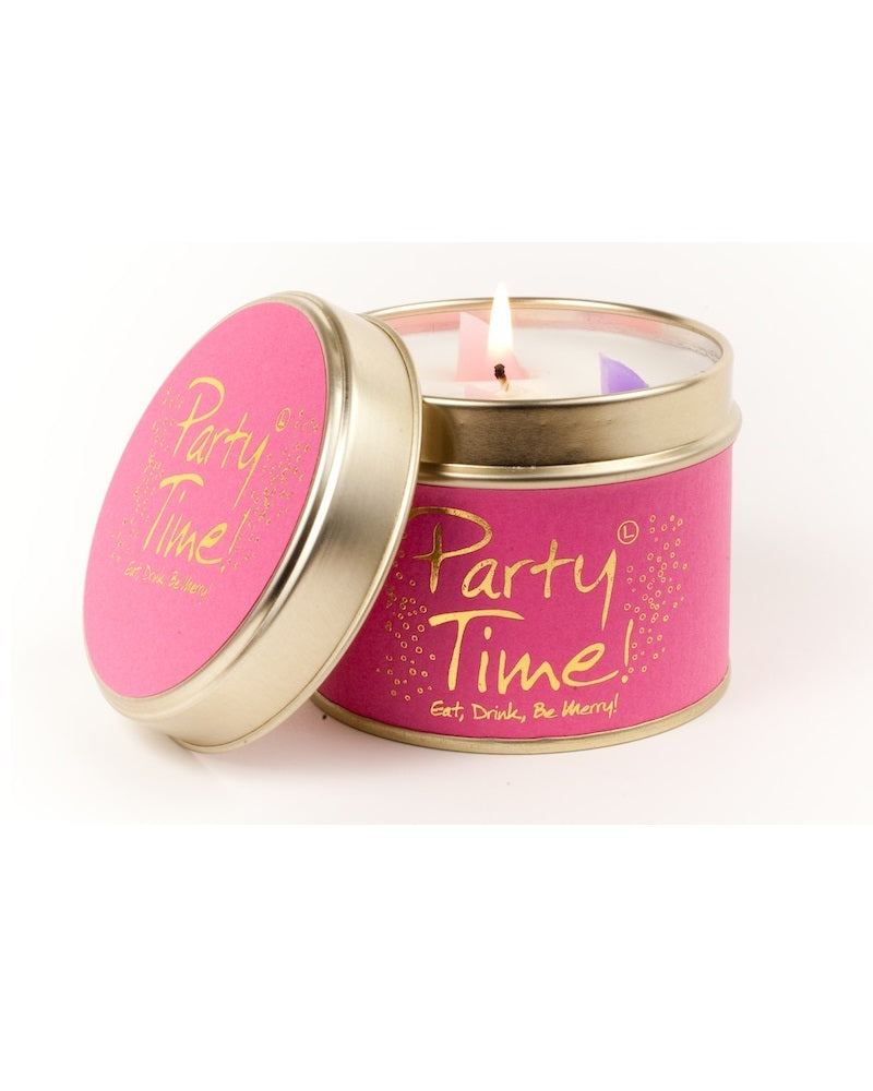 Party Time Tin Scented Candle