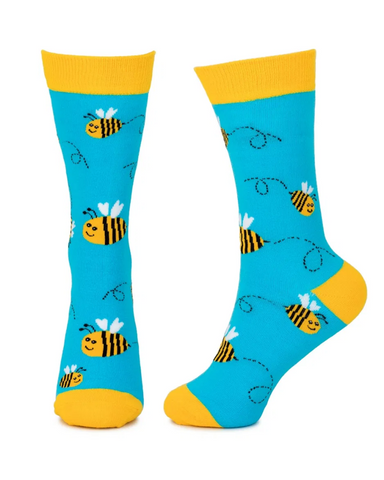 Bee Unisex Crew Socks