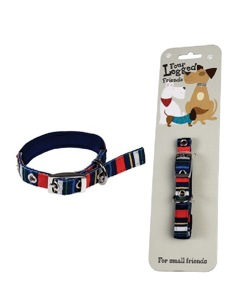 Stripy Dog Collar