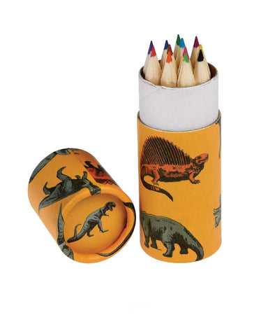 Prehistoric Dinosaurs Coluring Pencils Set Of 12