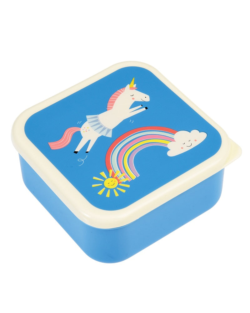 Magical Unicorn Snacking Boxes Set of 3 Bamboo Fibre