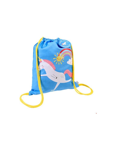 Mini Unicorn Drawstring Bag