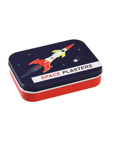 Space Age Plasters In A Tin