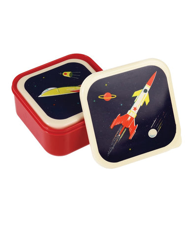 Space Age Snack Boxes Set Of 3