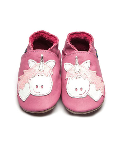 Unicorn Soft Leather Baby Shoes