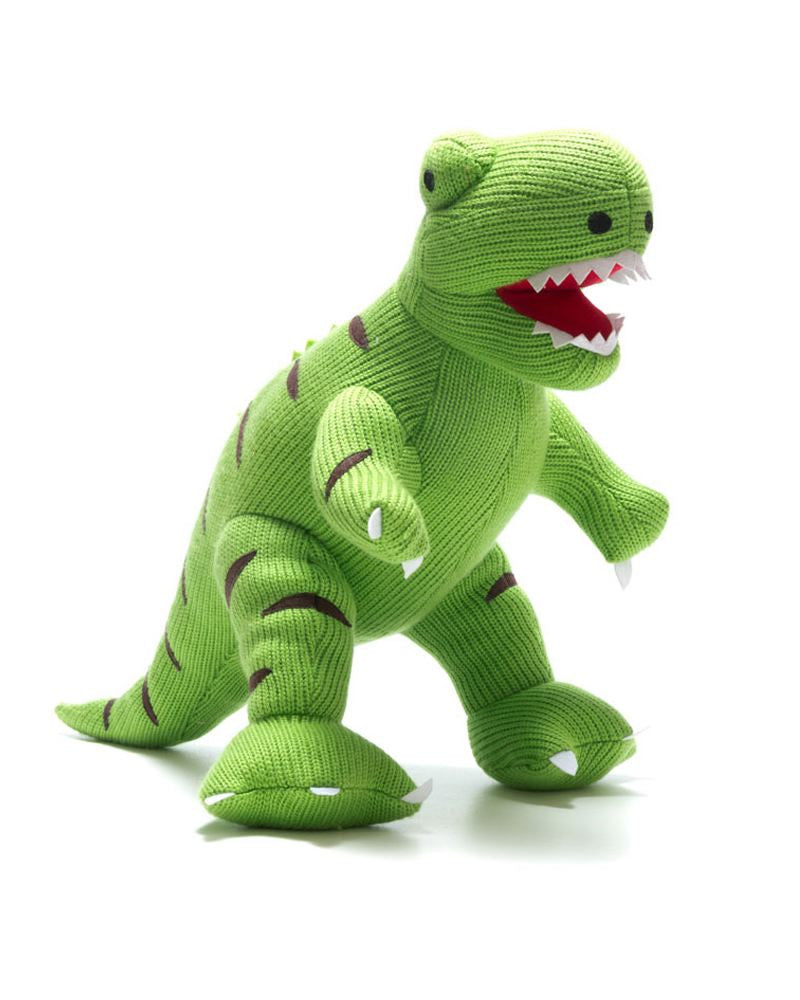 T-Rex Dinosaur Knitted Toy