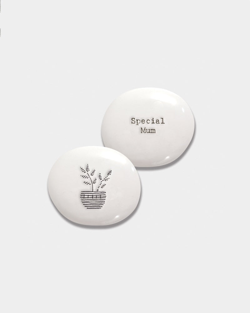 Porcelain Pebble - Special Mum