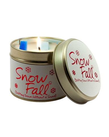 Snowfall Tin Scented Candle