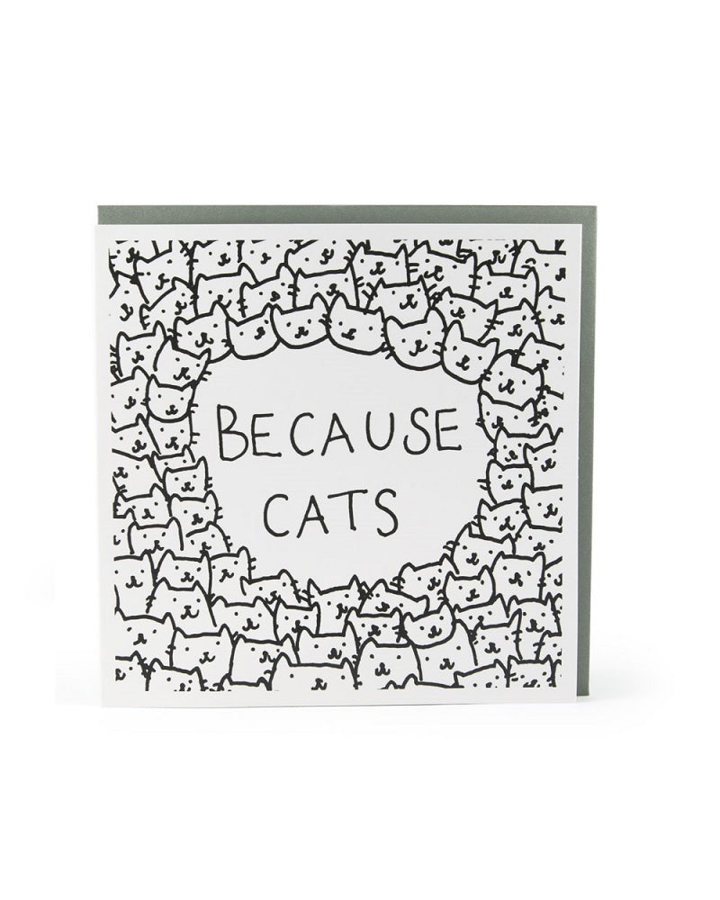 Because Cats Card
