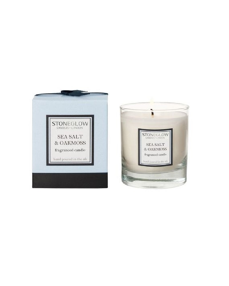 Modern Classics Sea Salt & Oakmoss Boxed Candle
