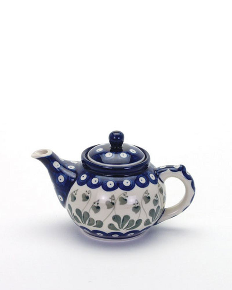 Polish Pottery Teapot For One