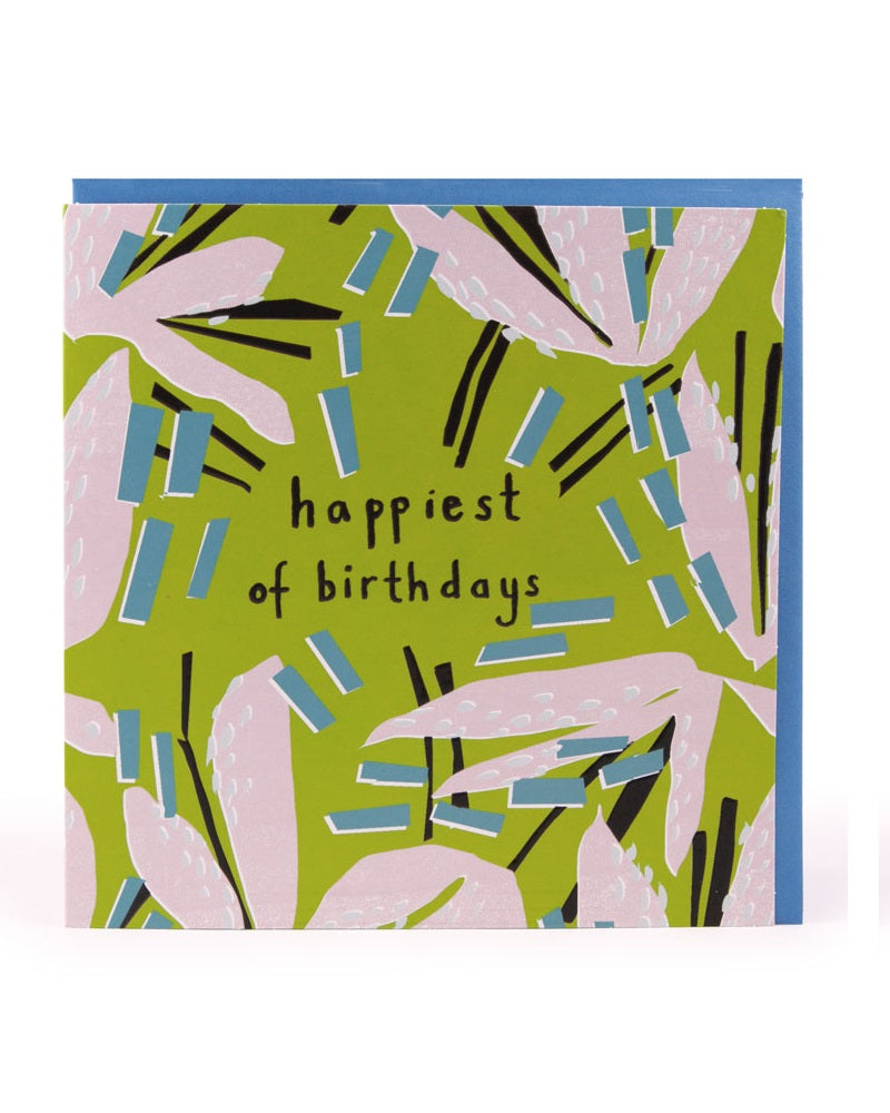 Happiest of Birthdays Card