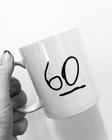 60th Birthday Glasgow Mug