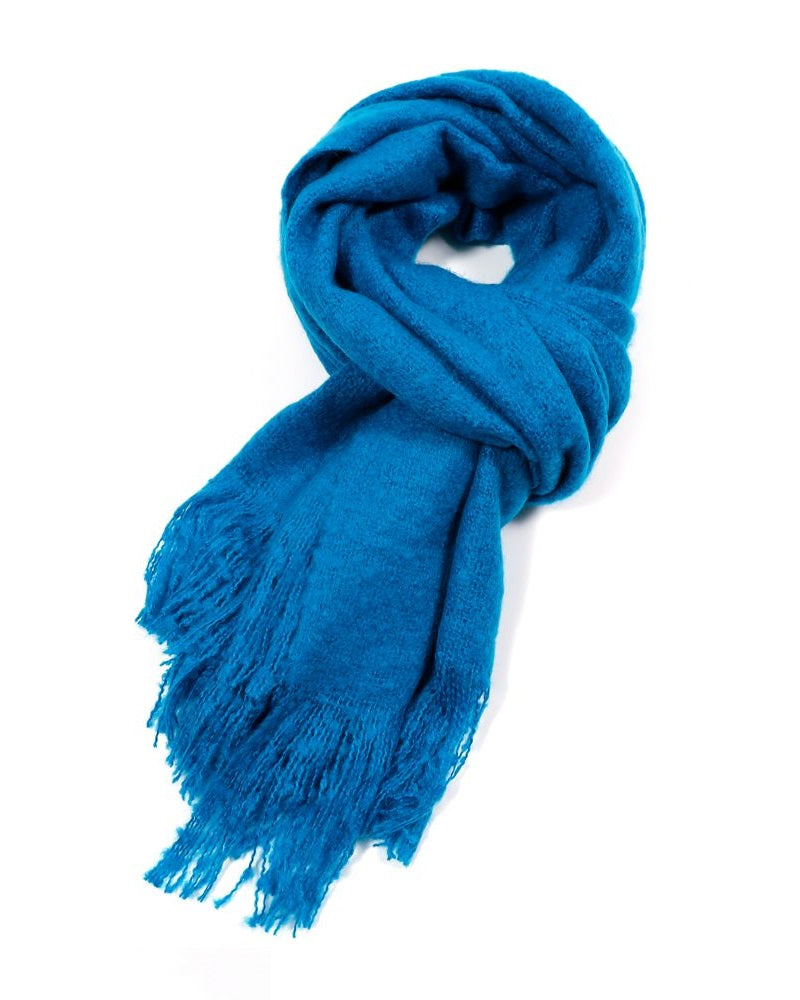Plain Blanket Scarf Assorted