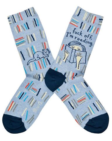 F*ck Off I'm Reading Socks