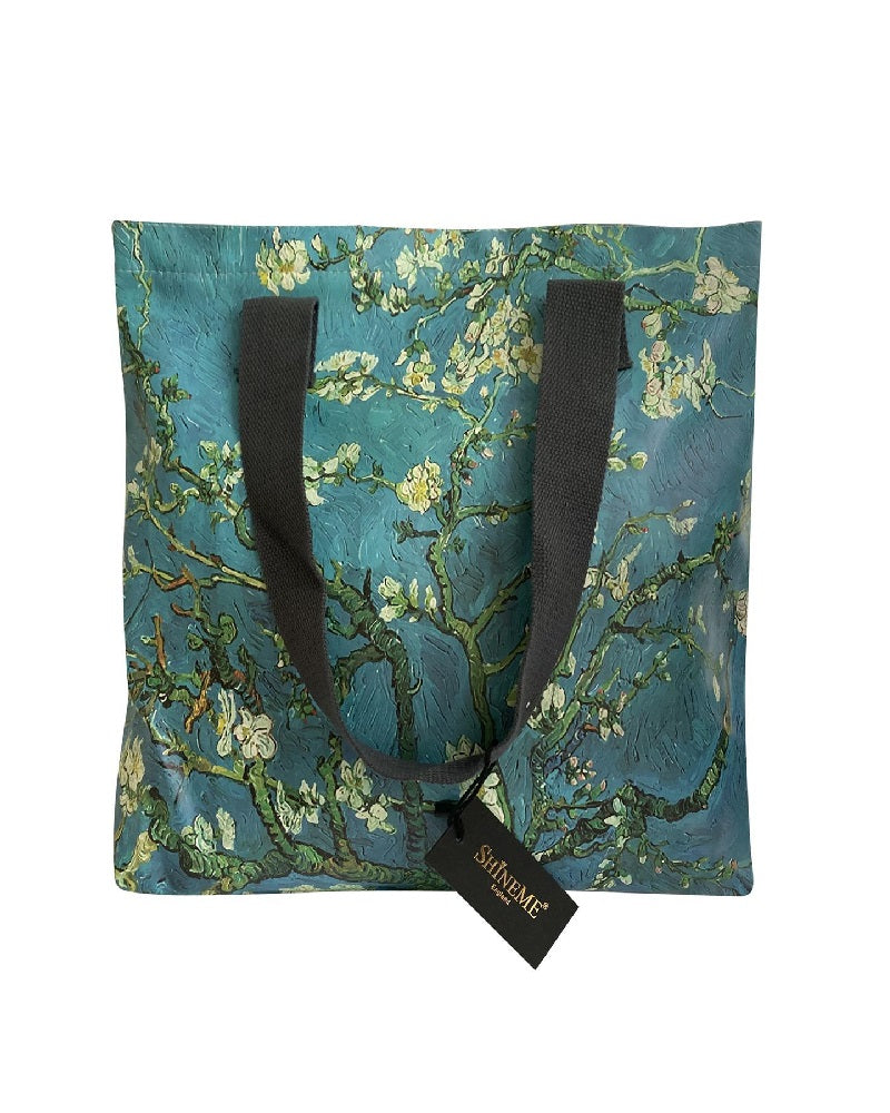 Van Gogh Starry Almond Blossom Shopper