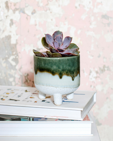 Mojave Glazed Mini Planters Assorted