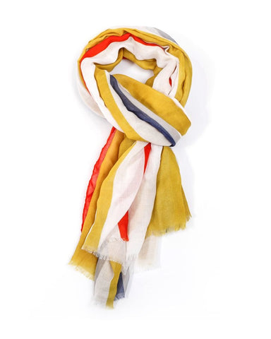 Stripes Scarf Multi